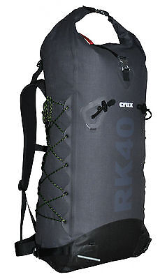Crux RK40 Liter Rucksack 925g wasserdicht Kevlar Bergsport NEU!