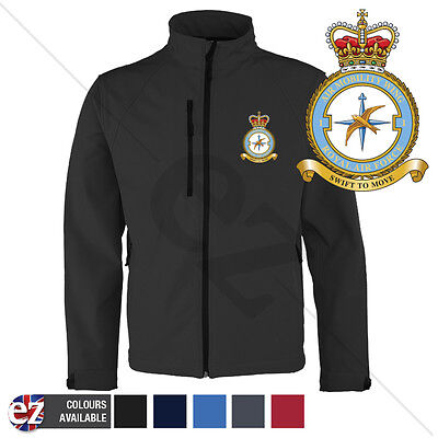 RAF Air Mobility Wing - Softshell Jacket - Personalised text available