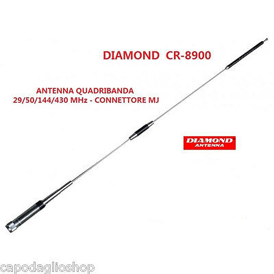 Diamond CR-8900 Antenna veicolare quadribanda 29/50/144/430 MHz