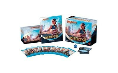 Kaladesh Bundle (Englisch) 10 Booster Life counter Deckbox - neues Fat Pack