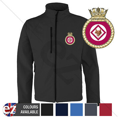 HMS Atherstone - Royal Navy - Softshell Jacket - Personalised text available