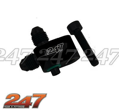 Ls Steam Bleed 2 X -4An Black 5.3, 6.0 5.7 Ls1, Ls2, Ls3, Ls4, Ls6, Ls7, Ls9, Ls