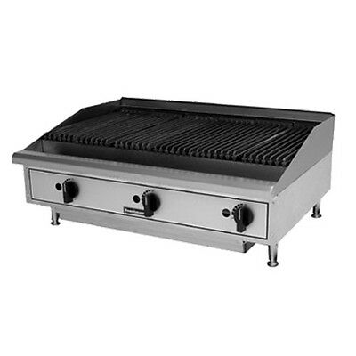 "Toastmaster TMRC24 Natural Gas Countertop Radiant Charbroiler 24"" W"