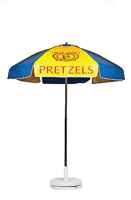 Frankford Cart Umbrella - Hot Soft Pretzels