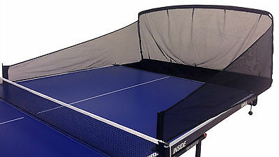 iPong Carbon Fiber Table Tennis Ping Pong Ball Catch Net - Single Robot Training