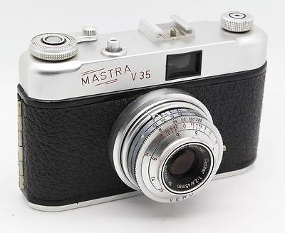 Mastra V35 35mm Film Viewfinder - Made by King c. 1958 with case – VGC & tested