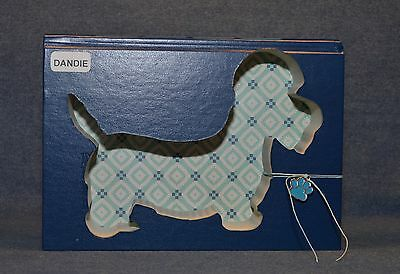 Dandie Dinmont Terrier Upcycled Book - 003