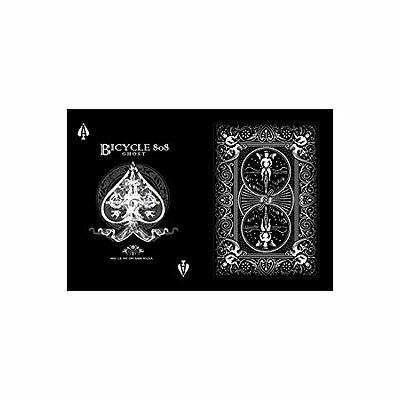 Black Ghost Deck 2nd Edition - Bicycle Playing Cards, Poker Size