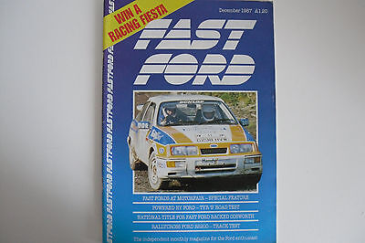 Fast Ford December 1987 Magazine Only