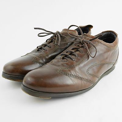 98186d655f33d VINTAGE BROOKS BROTHERS Brown Leather Oxford Shoes - Lace Up - Men's Size 8