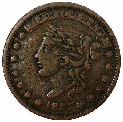 1837 Us Hard Times Not One Cent For Tribute Millions For Defence Token Ht 46