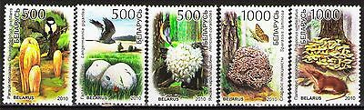 Belarus 2010 Sc741-5  Mi828-32  5v  mnh  The Red Book of the Republic of Belarus