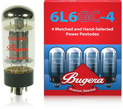 Matched pair or matched quad Bugera EL34 or 6L6GC Valves / Tubes