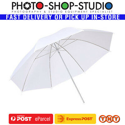 "A*Fotolux UR04|40"" 102cm Umbrella White Translucent for Photography Studio Flash"