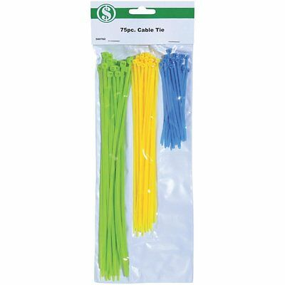 (72 Pk) 75Pc Cable Tie