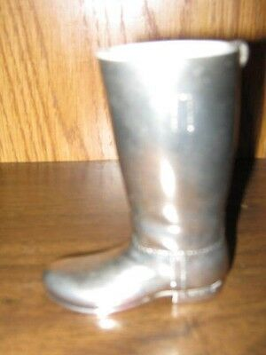 Silverplated Boot Shaped Toothpick Holder