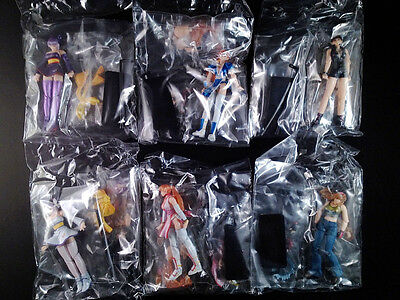 Dead or Alive K-T Figure Collection DX Complete set of 6 Kaiyodo Takara New