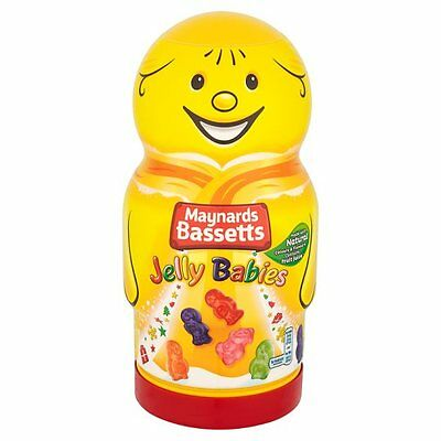 Bassetts Jelly Babies Novelty Jar 570g x 1 Pack