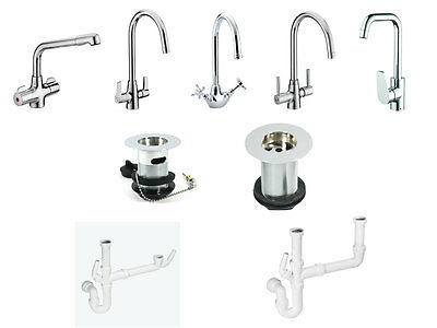 Bristan Kitchen Mixer With/Without Waste and Bowl Kit
