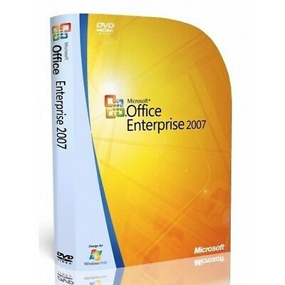 Microsoft Office 2007 Enterprise for Windows with key