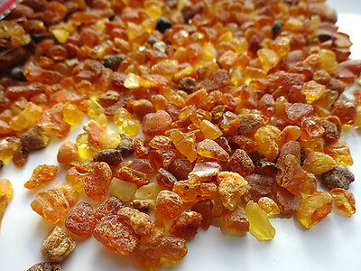 NATURAL RAW BALTIC AMBER SMALL PIECES (not drilled holes ) 100gr
