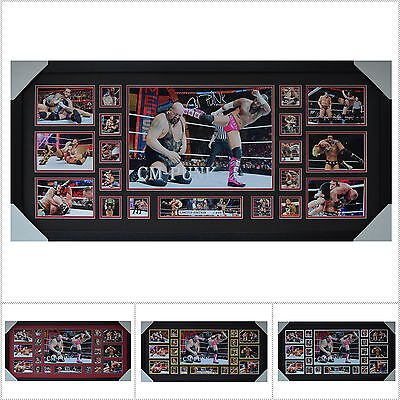 CM PUNK Signed Framed Limited Edition Large Size  - Multiple Variations