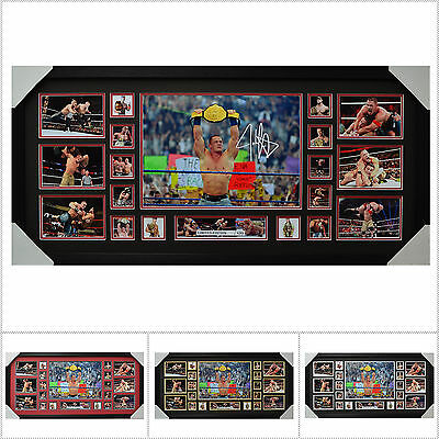 John Cena Signed Framed Limited Edition Large Size  - Multiple Variations