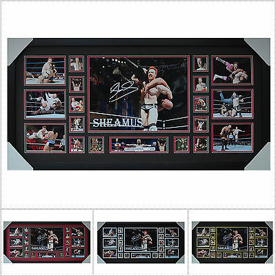 Sheamus Signed Framed Limited Edition Large Size  - Multiple Variations