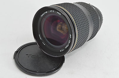 Tokina AT-X PRO 28-70mm f/2.8 AF Lens for Pentax with Caps from Japan 3-5days