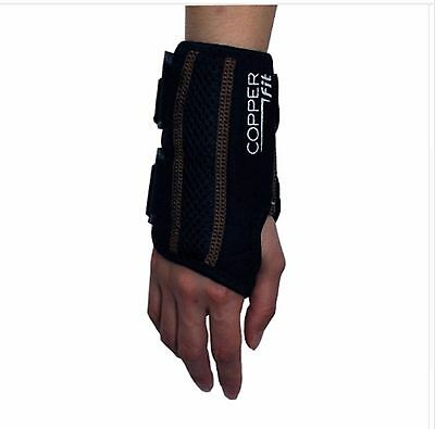 Carpal Tunnel Wrist Support Copper Compression Brace Arthritis Pain Relief