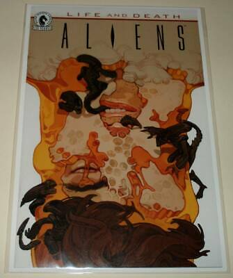 ALIENS : LIFE AND DEATH  # 1 Dark Horse Comic  Sept 2016  NM  Teng VARIANT COVER
