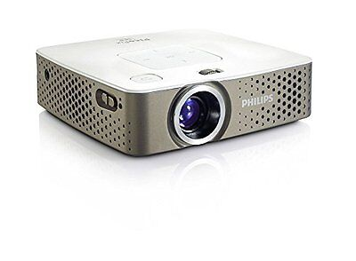 Philips PicoPix PPX3414 LED Multimedia Pocket Projector with Integrated Media