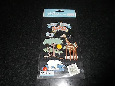 "Jolees "" Our day at the zoo"" Dimensional Stickers"