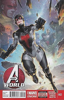 Avengers World #2  Marvel New Bagged & Boarded Free Uk P&p