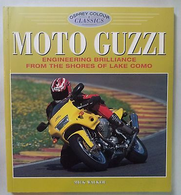 Moto Guzzi  Mick Walker Sport,falcone,175 Lodola Lake Como Color Classics 1997