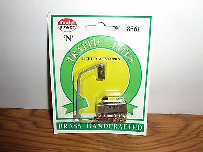 Model Power N Scale Traffic Lights #8561