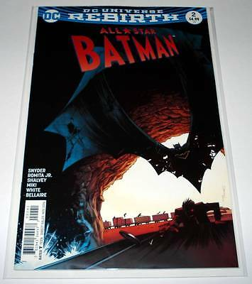 ALL-STAR BATMAN # 2  DC Comic  Nov 2016 NM    SHALVEY VARIANT COVER EDITION