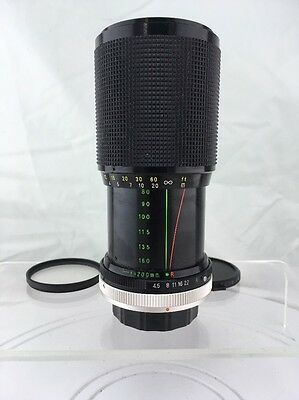 Rokinon Auto Zoom Super Coated f4.5 80-200mm Camera Lens