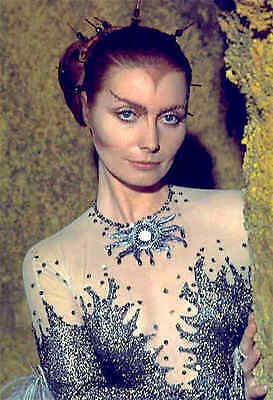 1975's SPACE: 1999 Catherine Schell Psychon gown color 7x10 costume portrait #3