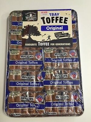 TRAY OF 10 x 100g BLOCKS WALKERS NONSUCH ORIGINAL TOFFEE ENGLAND'S FINEST