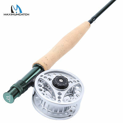 Maxcatch 5WT Fly Rod Combo 9FT 4SEC Fast Action Fly Fishing Rod & 5/6WT Fly Reel