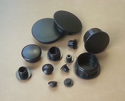 Hole Plugs Plastic Blanking Inserts  Masking Finishing / BLACK