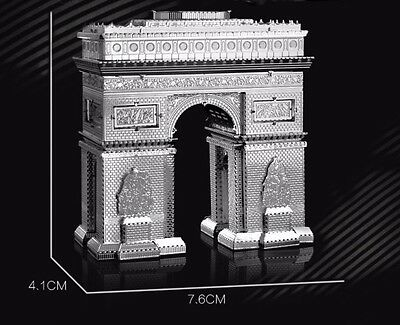 ARC DE TRIOMPHE France-Metal Earth 3D Laser Cut Miniature Model Kit Toy