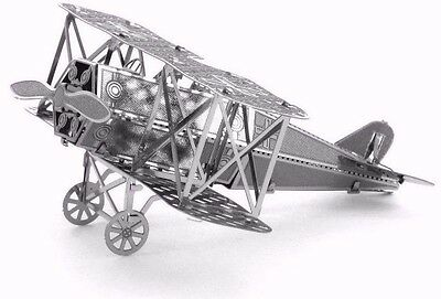 Fokker D-VII Fighter -Metal Earth 3D Laser Cut Miniature Model Kit Toy