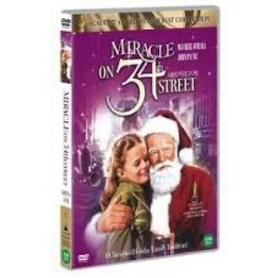 Miracle on 34th Street (1947) Edmund Gwenn, Maureen O'Hara DVD *NEW