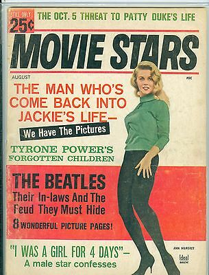 silver screen magazine august 1964 paul mccartney cover patty duke feature