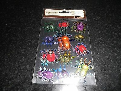 Recollections Beetles  dimensional sticker  embellishments