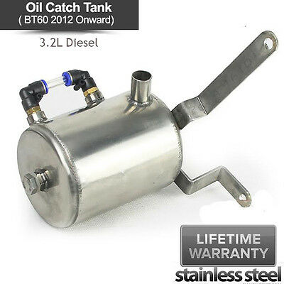 For FORD Ranger PX XL 2011++ BT60 T6 3.2L Diesel Turbo Power Oil Catch Can Tank