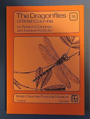 THE DRAGONFLIES of BRITISH COLUMBIA  - Cannings & Stuart 1st ed