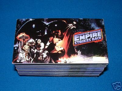 Topps Star Wars  Esb Widevision Trading Cards Full Set